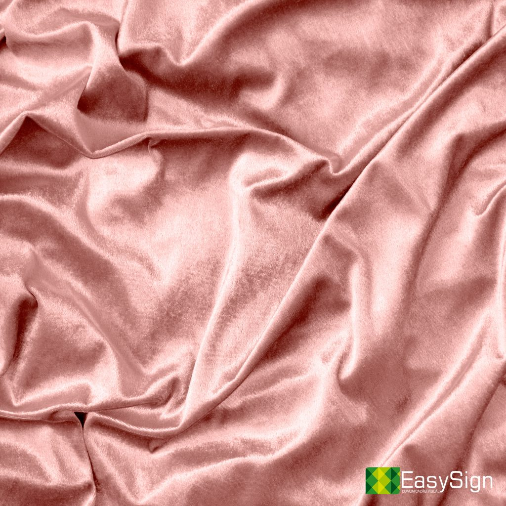 Pink shiny silk fabric texture