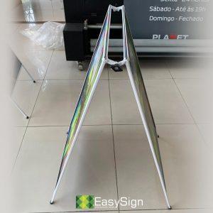 cavalete de ferro 50x80cm