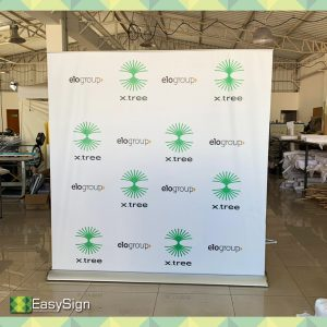 banner roll up 2mx2m