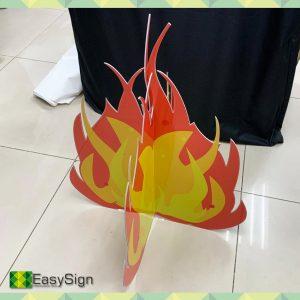 fogueira em PS