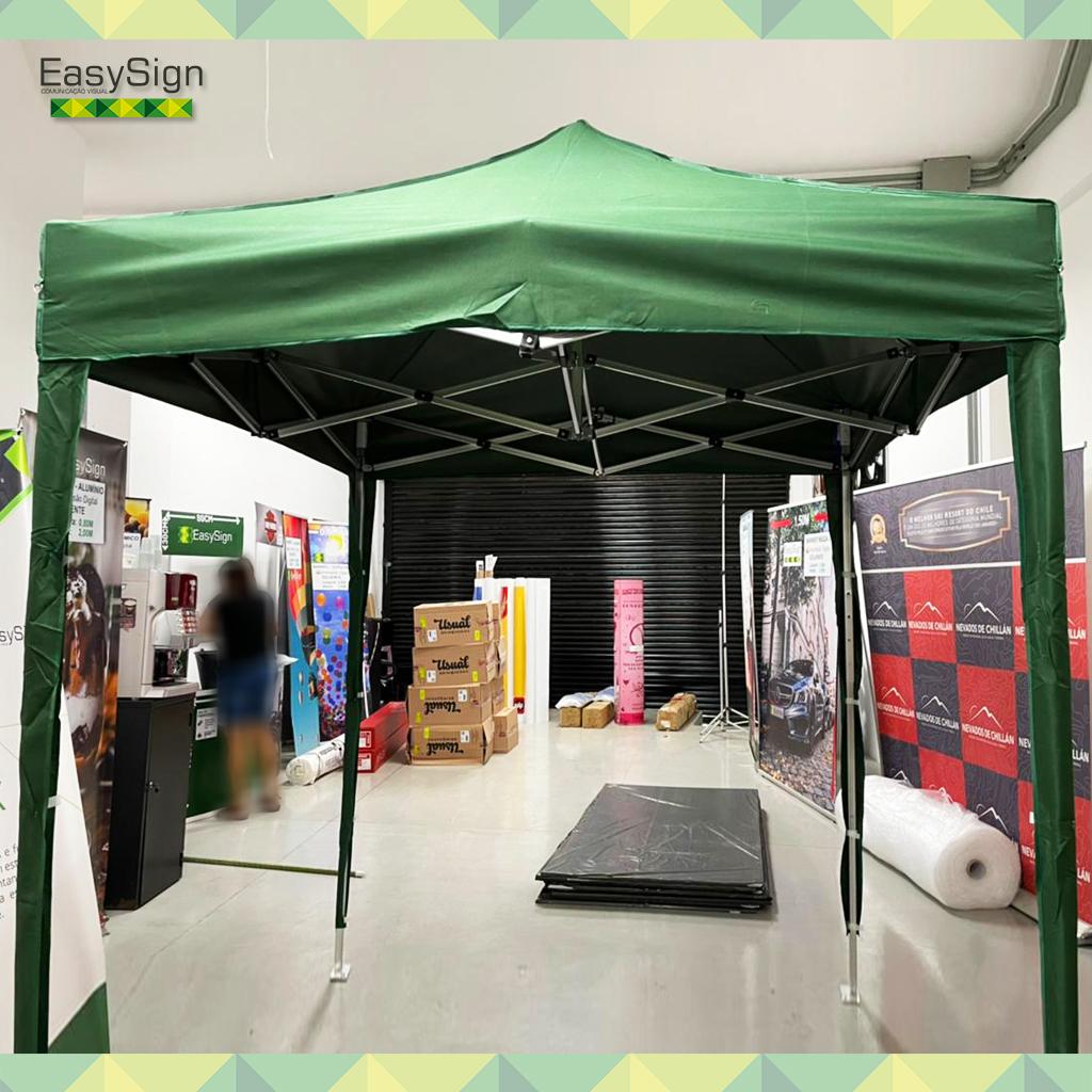 tenda 2x2 verde edi