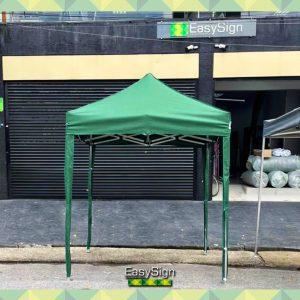 tenda estrutura verde