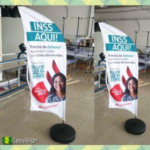 wind banner economico personalizado